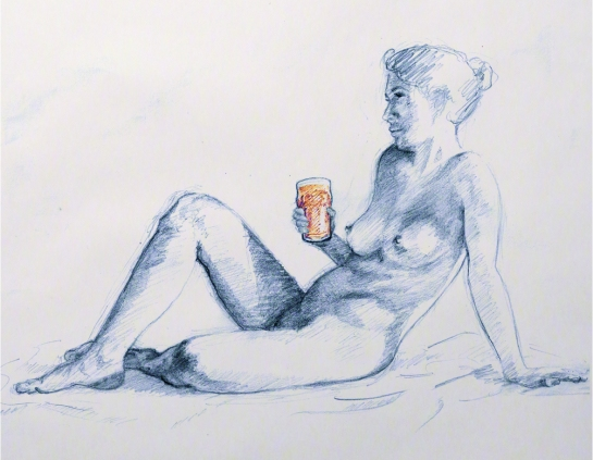 life drawing nude